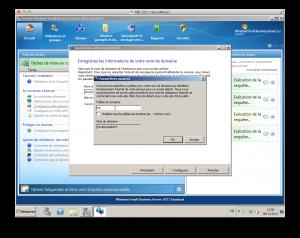 SBS 2011 Configuration du nom de domaine