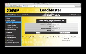 Ajout d'un serveur réel à un service virtuel sur le LoadMaster de Kemp