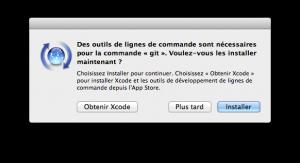 Installer GIT sur OS X