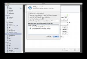 MunkiWebAdmin comme WebApp dans OS X Server