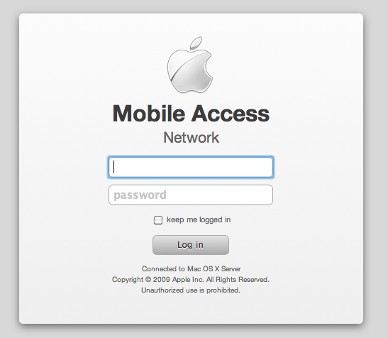 Authentification Mobile Access